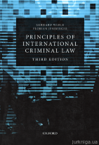 Principles of International Criminal Law. Third edition