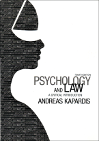 Psychology and Law a critical introduction. Fourth edition