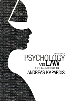 Psychology and Law a critical introduction. Fourth edition - фото